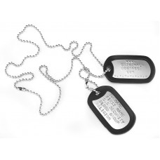 Shiny Dog Tags