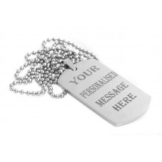 Dog Tag Engraving Rhoduim Plated